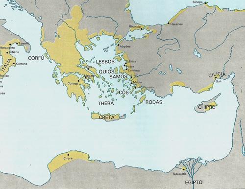 Plano Culturas del Egeo. Creta