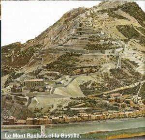 Mont Rachais et Bastille