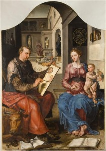 SanLucasPintandoVirgenVanHeemskerck_1545