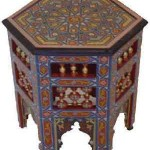 table basse traditionnelle