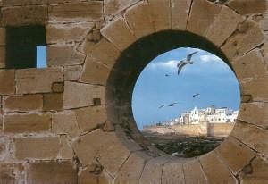 vista a la medina desde el puerto