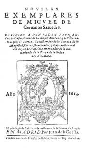Novelas ejemplares. 1613