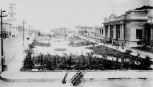 .Aduana y parque de Veracruz 1920