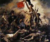 la liberté guidant le peuple Delacroix 1830
