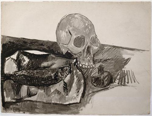 CráneoyTintero_Picasso_1908