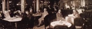 Café central primeros de siglo XX