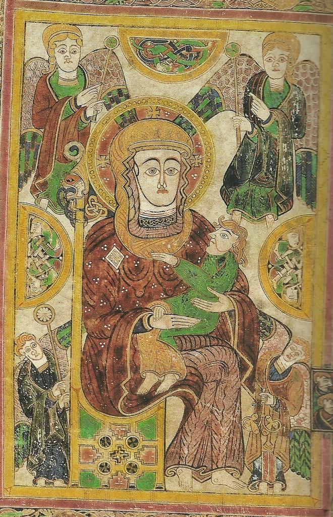 Virgenconniño_LibrodeKells_Irlanda_c.800
