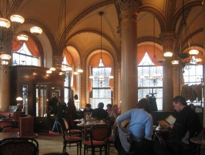 Café Central Viena. S.XXI