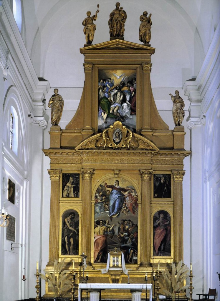 Retablo Santo Domingo el Antiguo.  Toledo