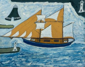 The Blue Ship .1934 Alfred Wallis 1855-1942