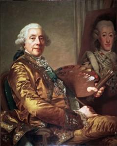 Alexander Roslin: Självporträtt, 1790. Malmö Museum