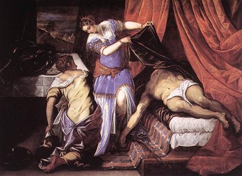 JudityHolofernes_Tintoretto_s.XVI