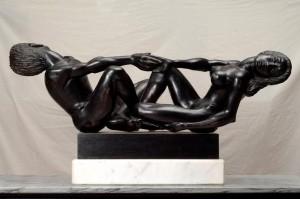 escultura en ébano