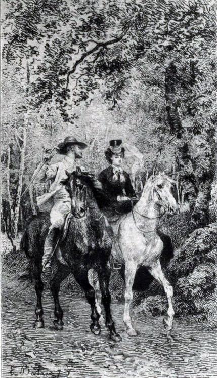 Ilustación_MadameBovary_equitación