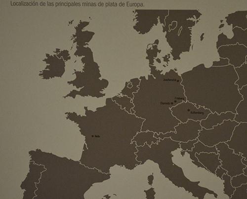 Yacimientos europeos de plata