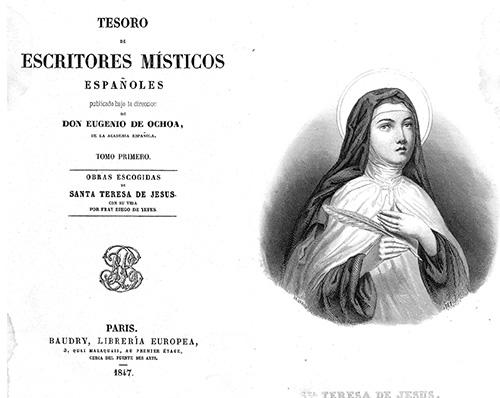 Tesoro Escritores Místicos Españoles