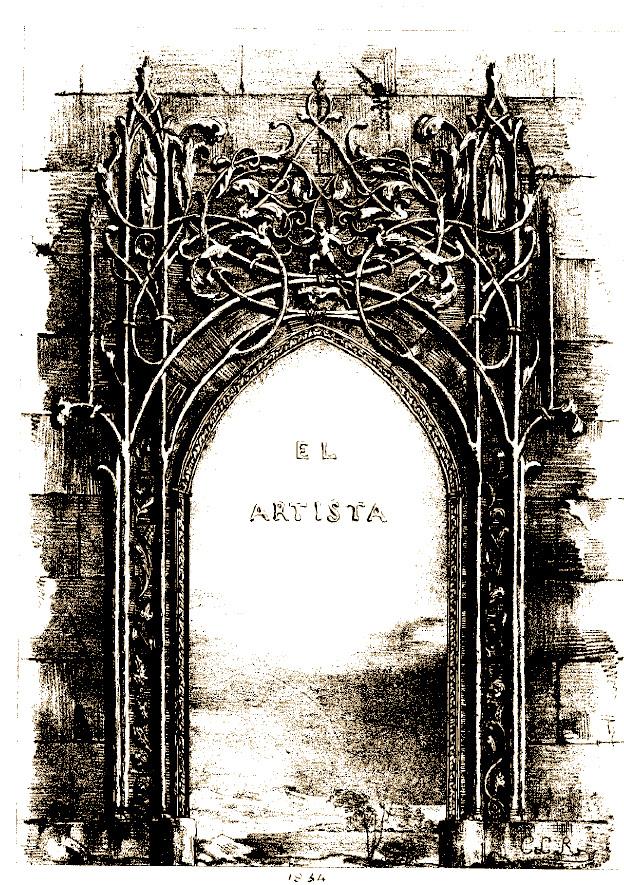 PortadaElArtista1835