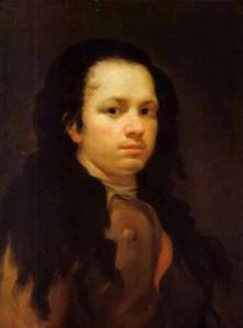 Autorretrato de Goya 1771-75
