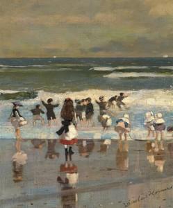 Escenas de playa.