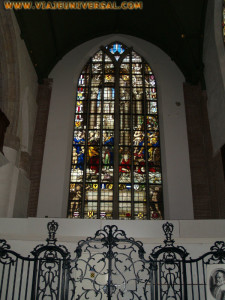 Iglesia San Juan Bautista. Gouda. Vidrieras.