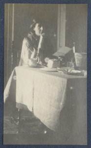 by Lady Ottoline Morrell, vintage snapshot print, circa 1917