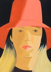 Alex Katz. Red Hat (Elise), 2013.
