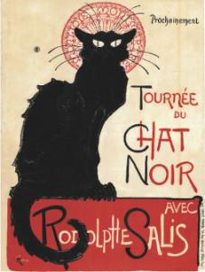 THÉOPHILE-ALEXANDRE STEINLEN Tournée du Chat Noir